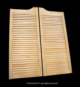 Pine Swinging Doors Standard