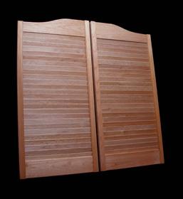 Louvered Hardwood - Standard