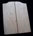 knotty pine Swinging Door - Standard